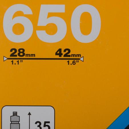 """650 x 28/42 kamera – """"Presta"""""""