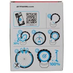 Binnenband 700x18/25 Presta-ventiel 80 mm - 993076