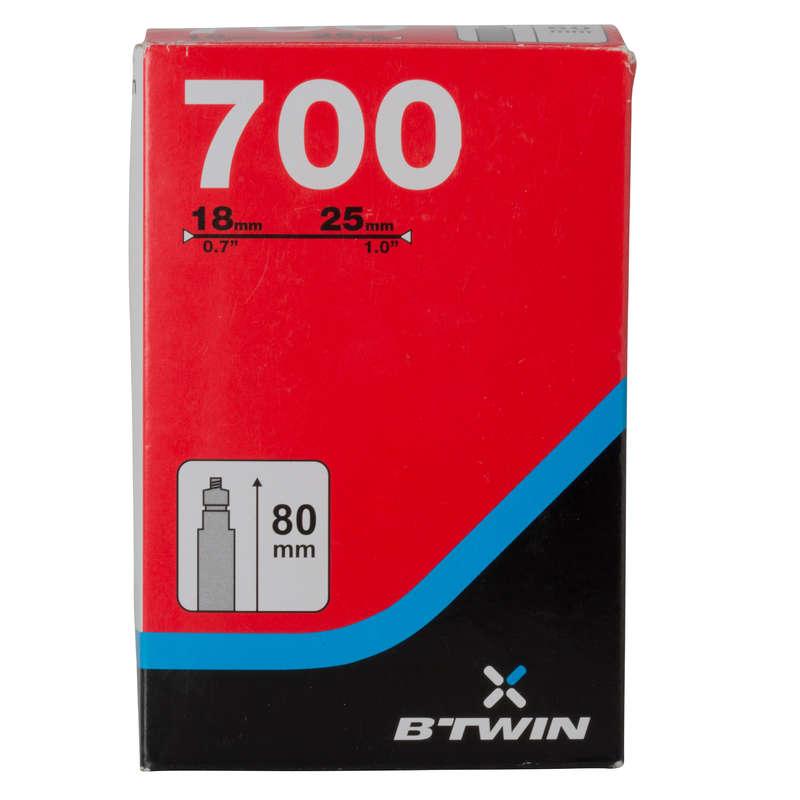 MTB bels#k - Gumibelső 700x18/25, BTWIN