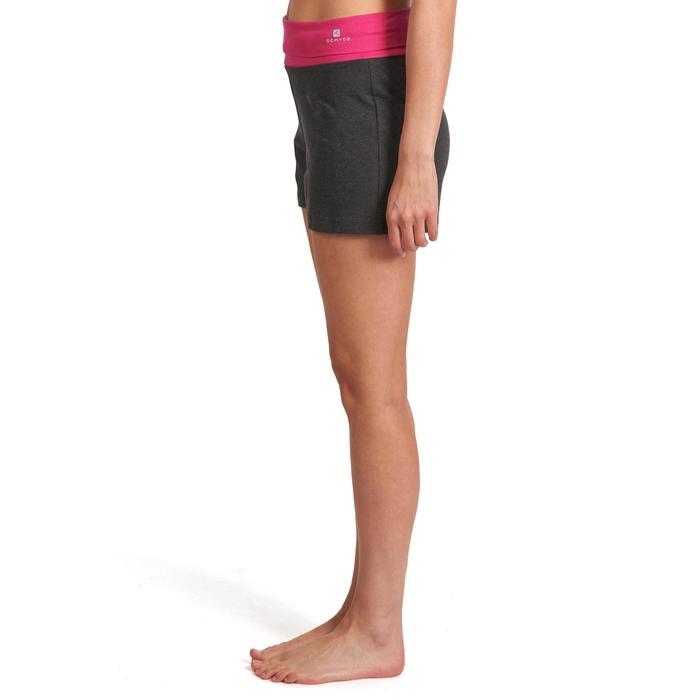 Short yoga doux femme coton issu de l'agriculture biologique - 993132