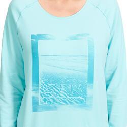 Yoga T-shirt in biokatoen voor dames - 993146