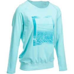 Yoga T-shirt in biokatoen voor dames - 993172
