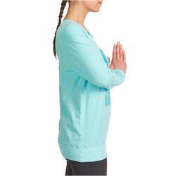 Yoga T-shirt in biokatoen voor dames - 993216