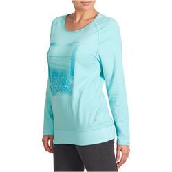 Yoga T-shirt in biokatoen voor dames - 993306