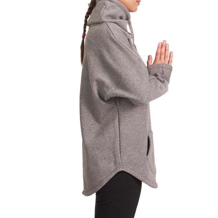 Sweat polaire yoga COCOON femme - 993349