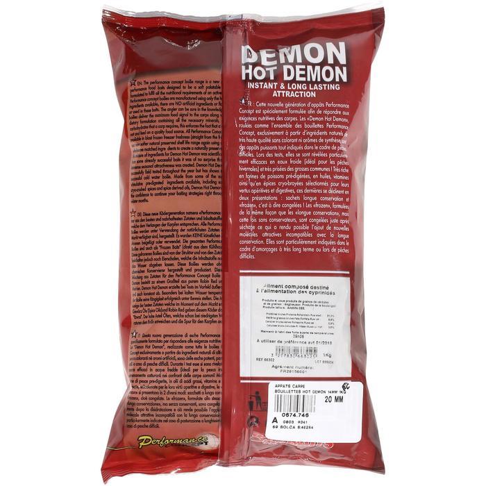 Boilies voor karpervissen Hot Demon 14 mm 1 kg