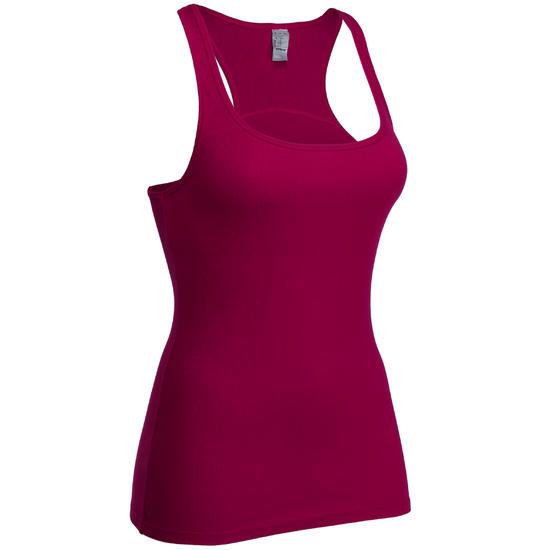 Topje voor gym & pilates dames gemêleerd - 99468