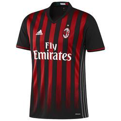 Voetbalshirt AC Milan thuisshirt voor volwassenen zwart/rood - 994908