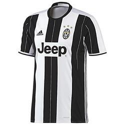 Voetbalshirt Juventus thuisshirt voor kinderen wit/zwart
