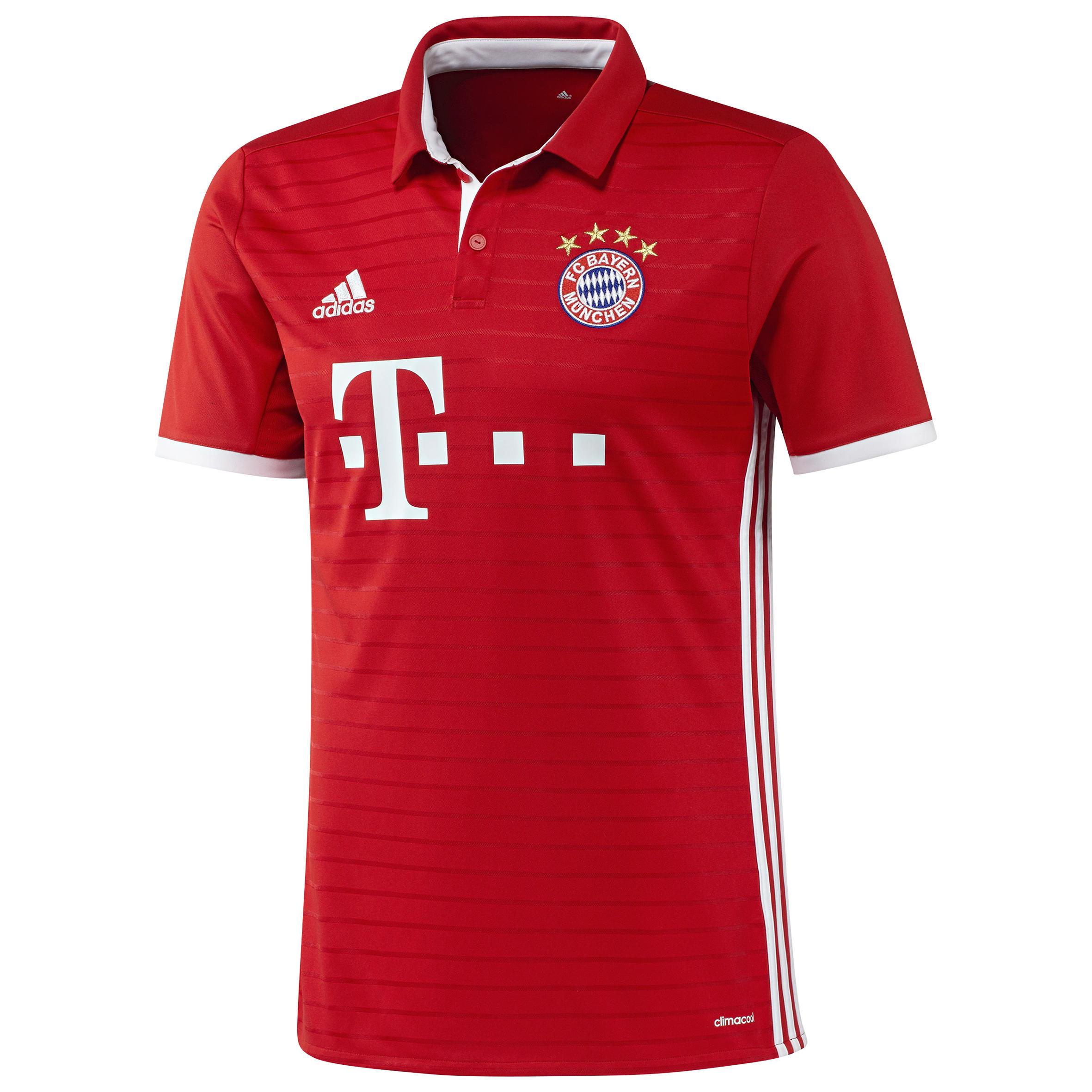 Voetbalshirt voor volwassenen, replica thuisshirt FC Bayern