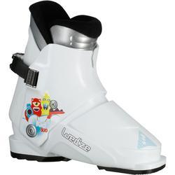兒童滑雪靴KID 300 - 白色