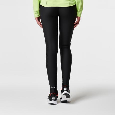 collant jogging femme run dry noir kalenji. Black Bedroom Furniture Sets. Home Design Ideas