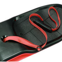 Snowskate Boardslide - Black Red