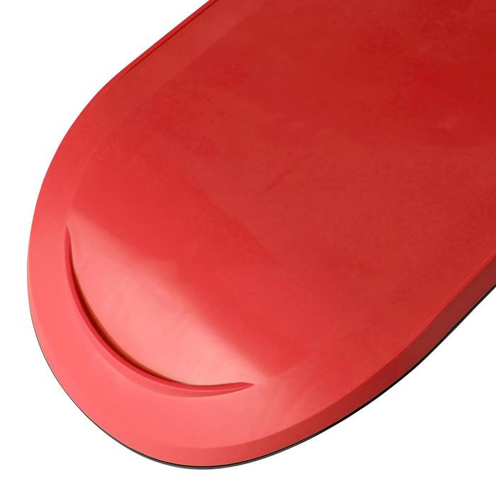 Snow skate boardslide noir rouge