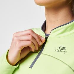 Loopshirt met lange mouwen dames Ekiden Warm - 995330