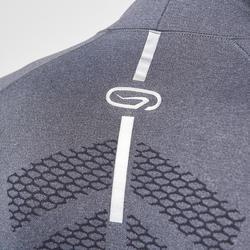 Loopshirt met lange mouwen voor heren Kiprun Skincare grijs - 995573