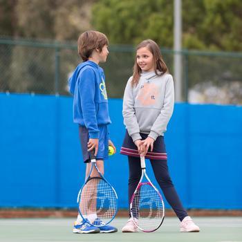 TR130 23 Girls' Tennis Racket - White/Pink - 995612