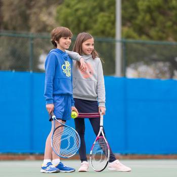 TR130 23 Girls' Tennis Racket - White/Pink - 995623