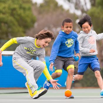 Hoodie racketsporten Soft kinderen - 995739