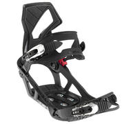 Men's and Women's Illusion 400 Snowboard Bindings - Black