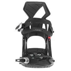 男女皆適用的單板滑雪板固定器Illusion 400 - 黑色
