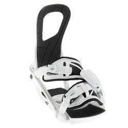 Snelle snowboardbindingen Expedite 300 wit en zwart