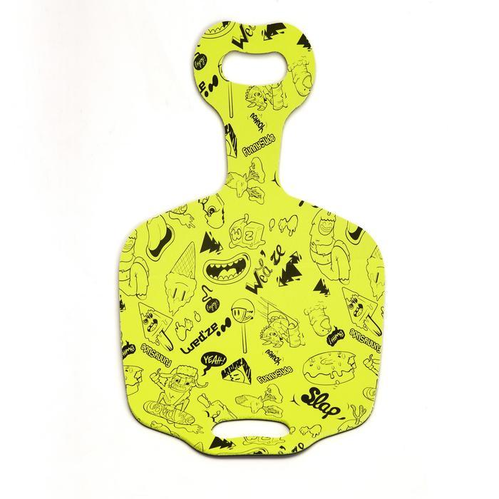 Luge enfant pelle à neige Funny Slide  jaune - 995842