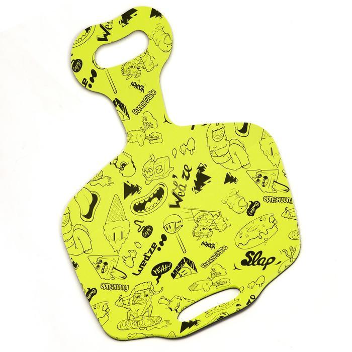 Luge enfant pelle à neige Funny Slide  jaune - 995843