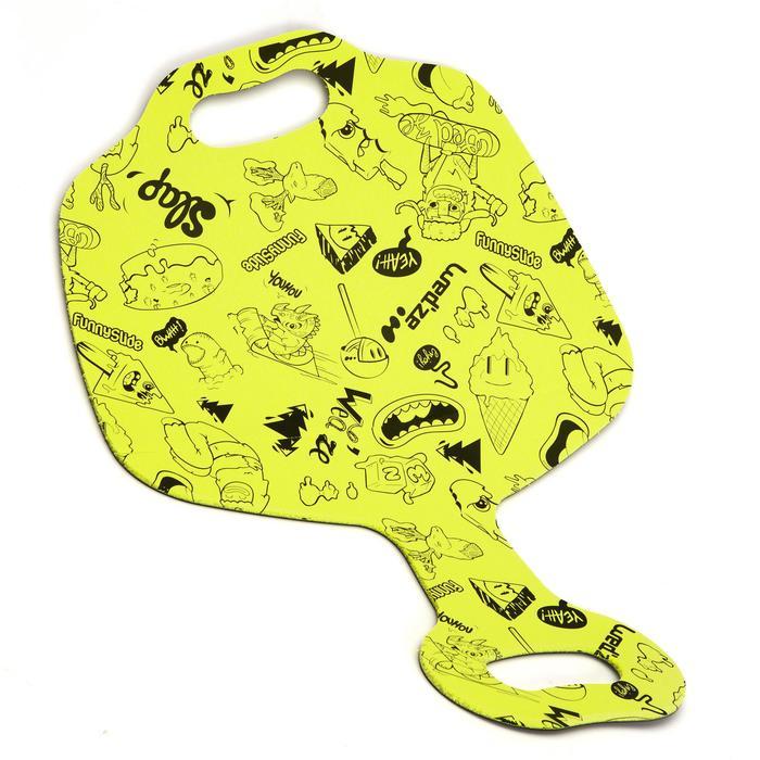 Luge enfant pelle à neige Funny Slide  jaune - 995845
