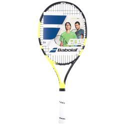 Tennisschläger Aero 26'' besaitet Kinder schwarz/gelb