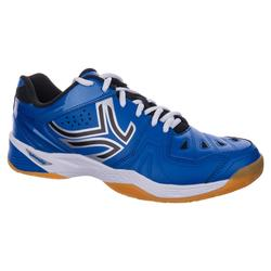 Chaussures De Badminton Artengo BS800 Bleu Noir Homme