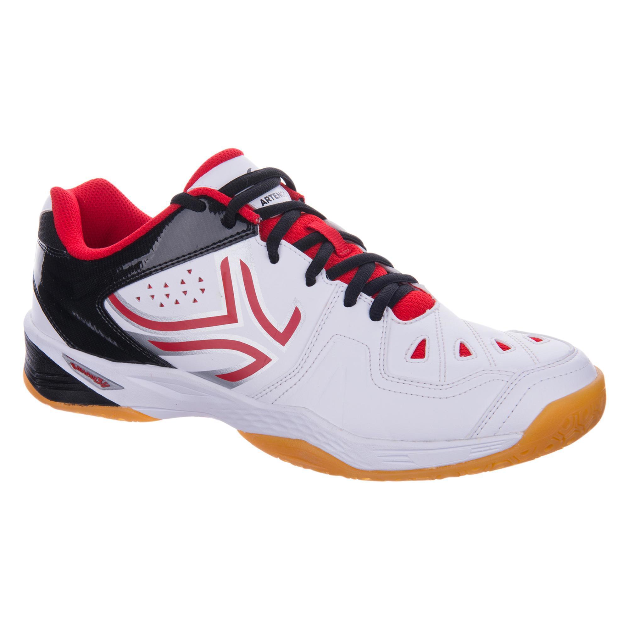 Artengo Chaussures De Badminton Pour Les Hommes Bs990 D'orange XyKh48