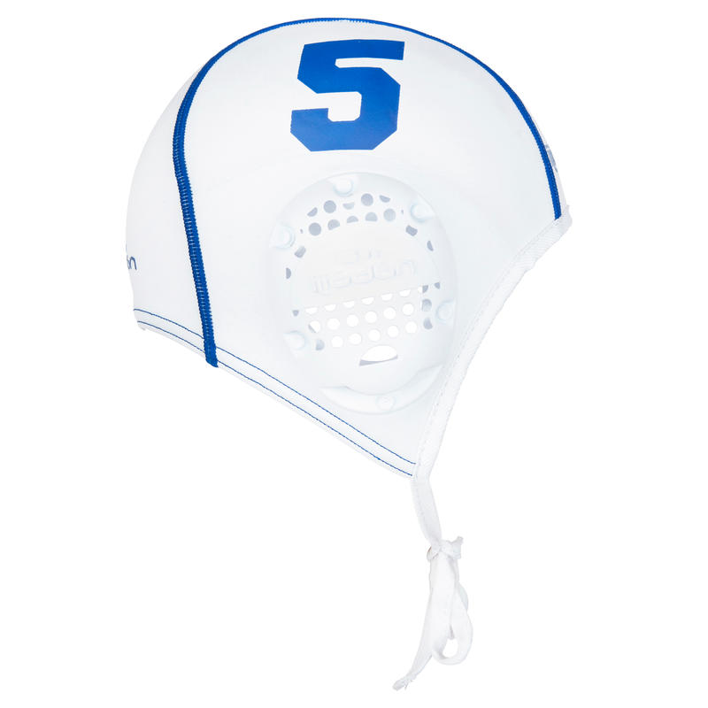 Set of 13 adult Water Polo white caps