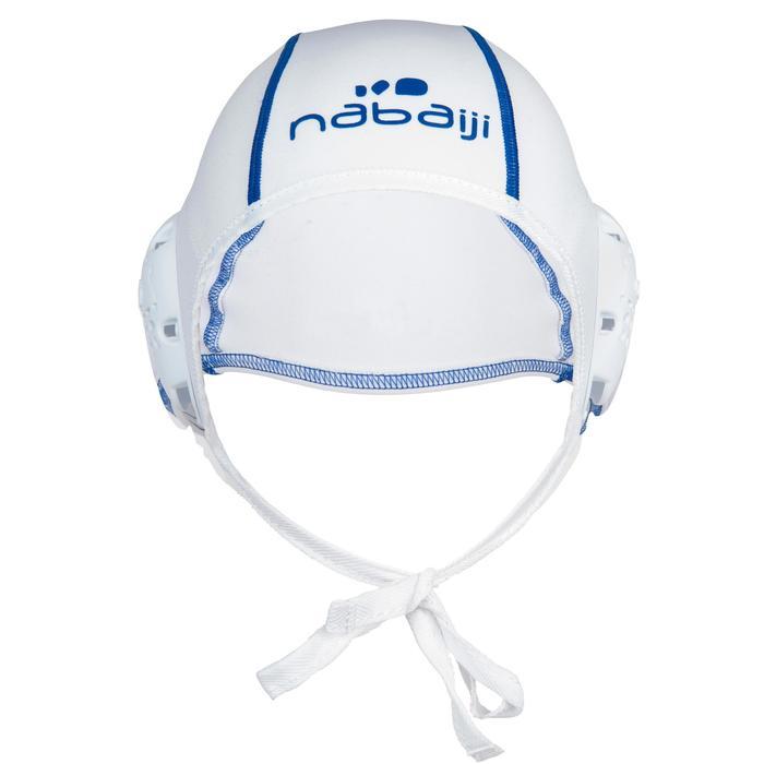 Lote 13 gorros waterpolo adulto entrenamiento Blanco