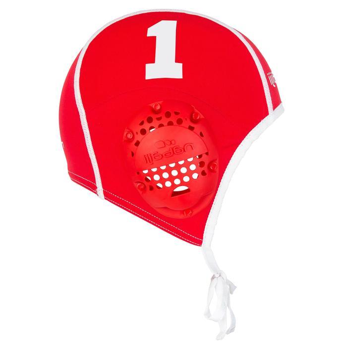 Wasserball-Kappen 13 Stück Erwachsene weiß