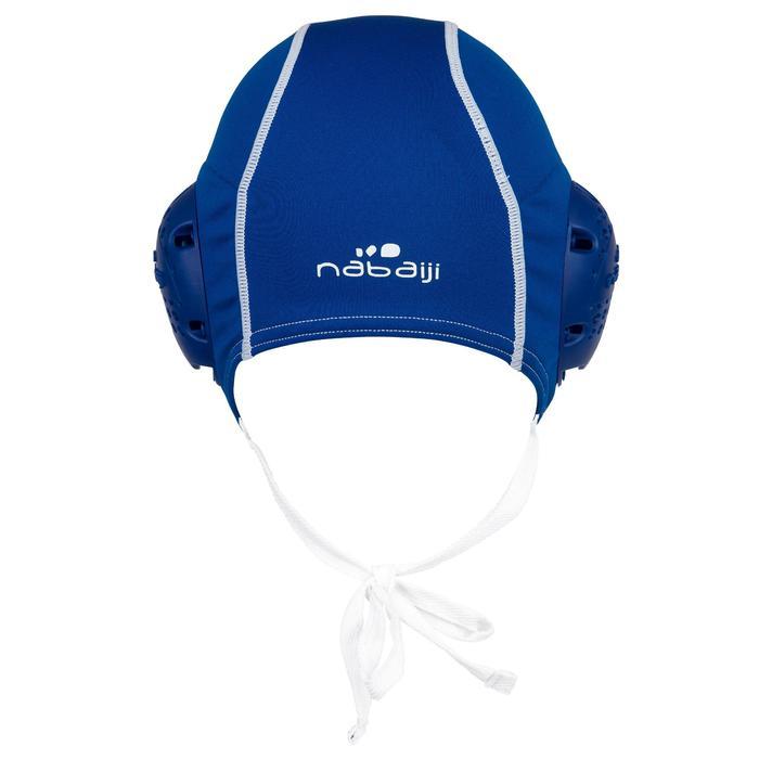 Set van 13 blauwe badmutsen voor waterpolo volwassenen