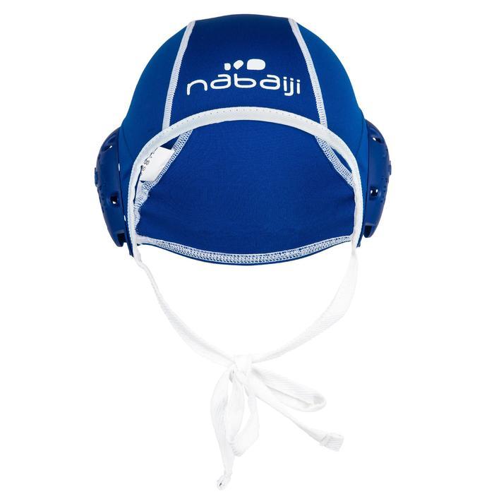 Set mit Wasserball-Kappen Erwachsene 13 Stück blau