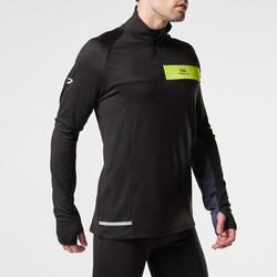 Loopshirt lange mouwen heren Run Warm+ - 997793