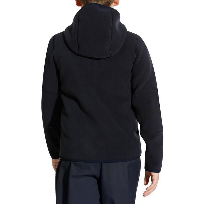 500 Children's Reversible Sailing Fleece - Dark Blue/Blue