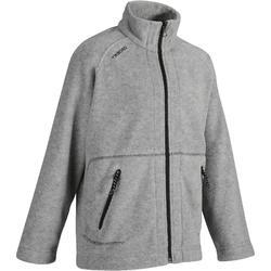 100 兒童航海刷毛外套 -灰色