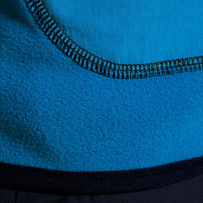 Polaire voile enfant 500 réversible bleu foncé - 998208