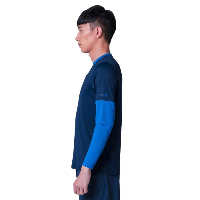T SHIRT THERMIC 100 HOMME MARINE