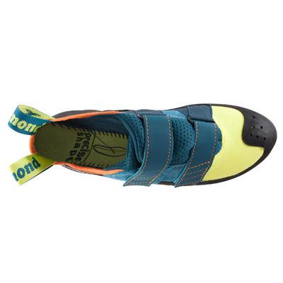 Pies de Gato Escalada Simond Vertika Velcro Adulto Amarillo | Azul