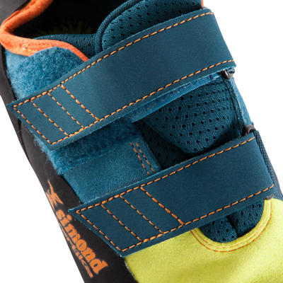 CLIMBING SHOES VERTIKA STRAP - ANISEED/BLUE