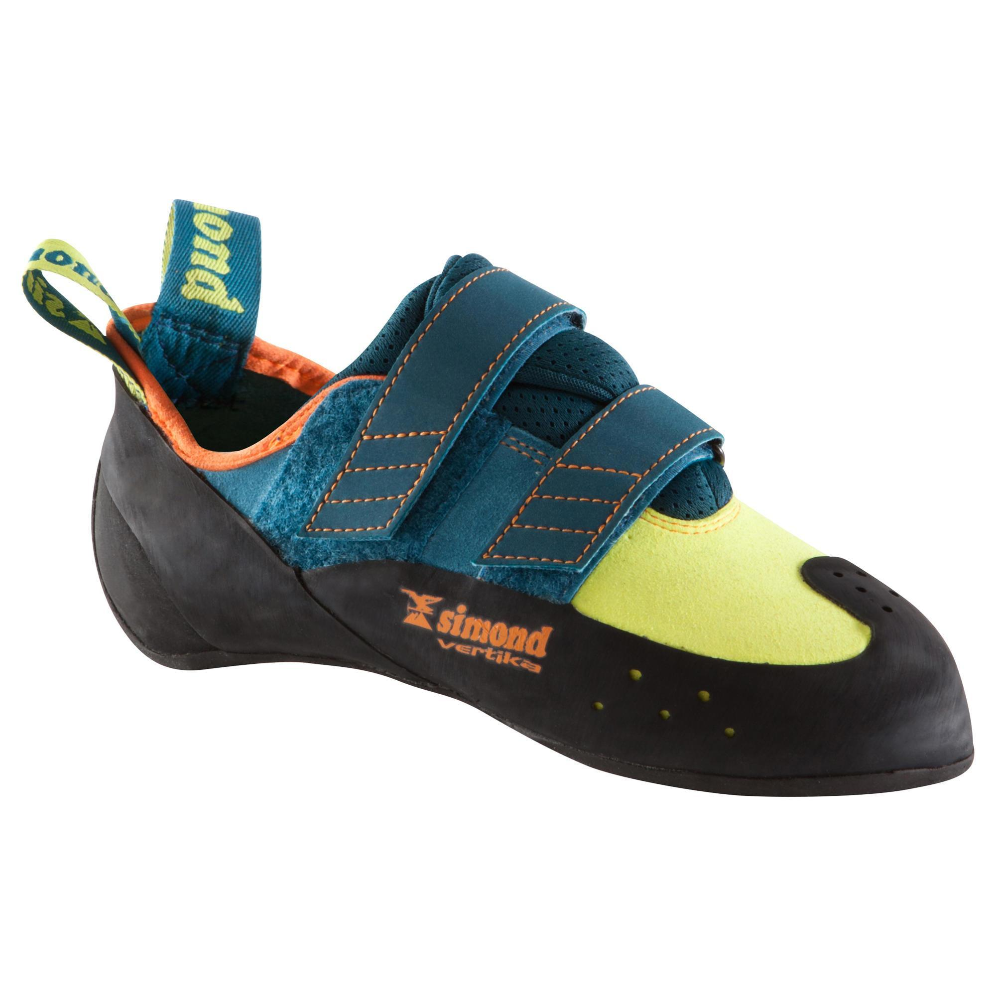 Kletterschuhe Vertika Erwachsene | Schuhe > Outdoorschuhe > Kletterschuhe | Blau - Türkis - Grün - Orange | Gummi - Leder | Simond