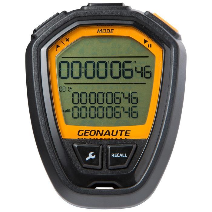 Cronómetro deportivo ONstart 110 negro naranja