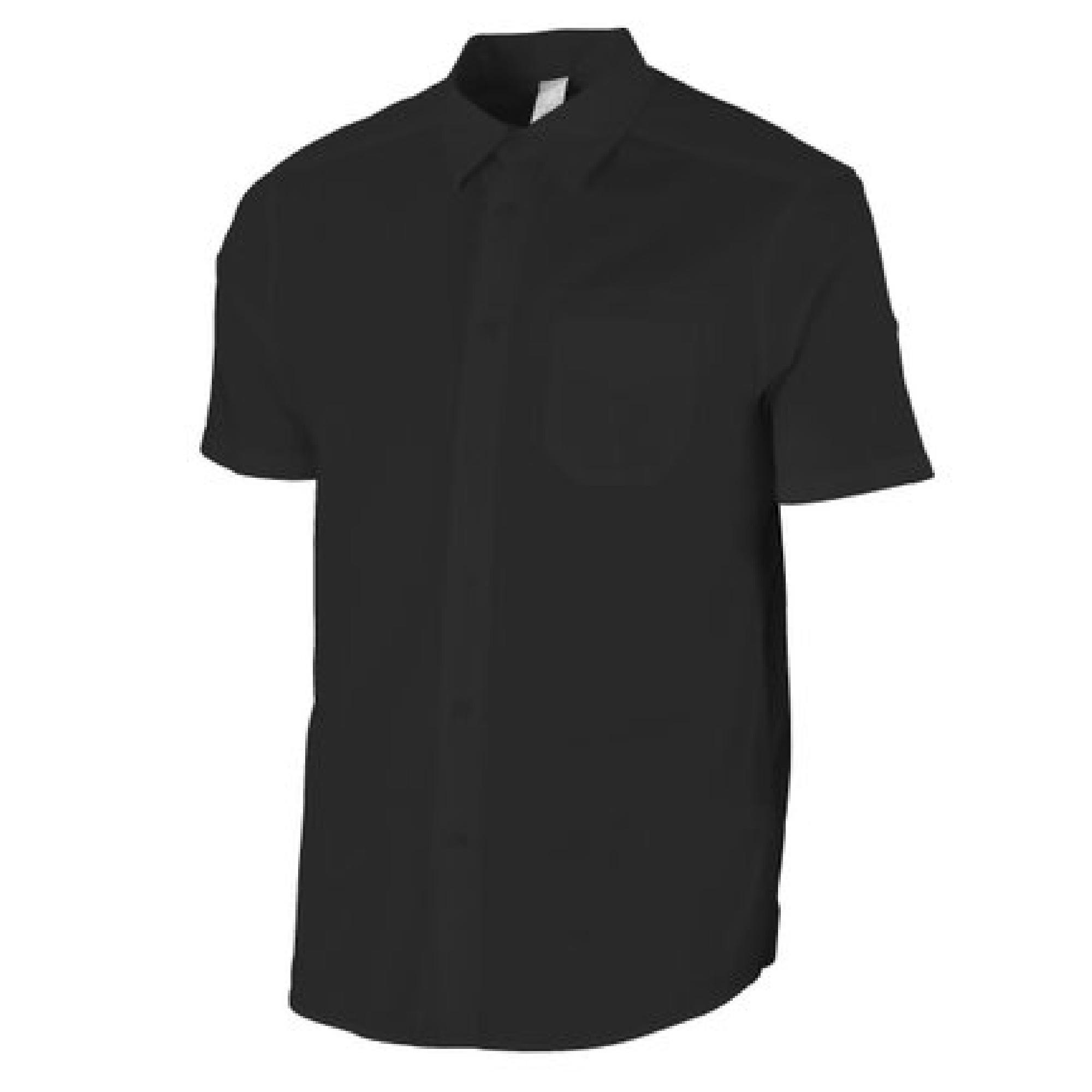 Men's Travel Shirt Arpenaz 20- Black