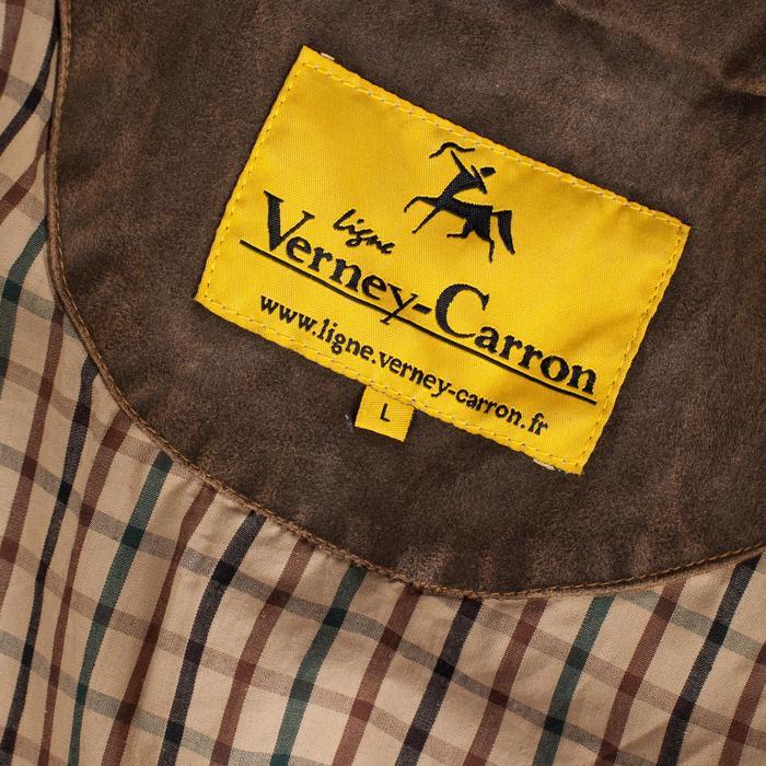 Chaqueta Caza Verney Carron Fox Game Original Impermeable Marron