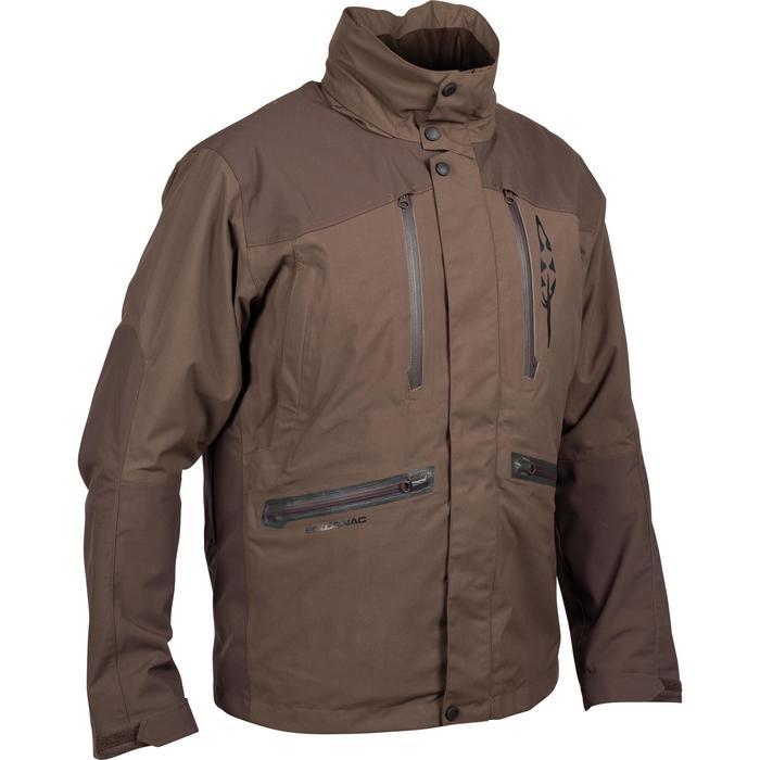 Veste chasse imperméable Renfort 900 marron - 999356