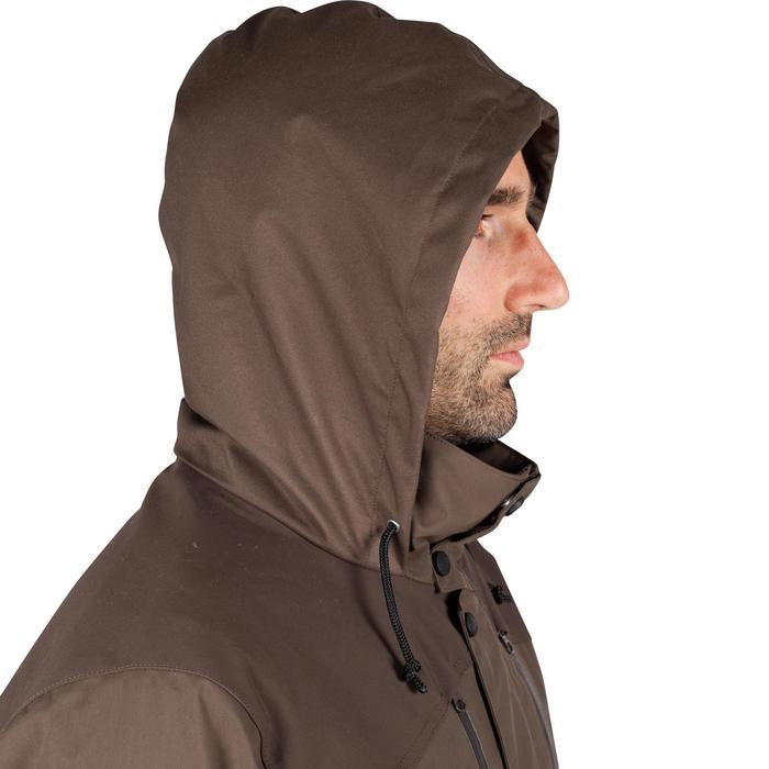 Veste chasse imperméable Renfort 900 marron - 999357